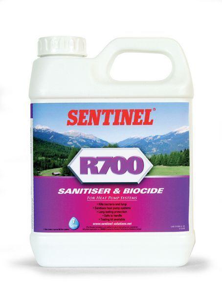 Sentinel R700 ground & air source heat pump sanitiser & biocide 1ltr