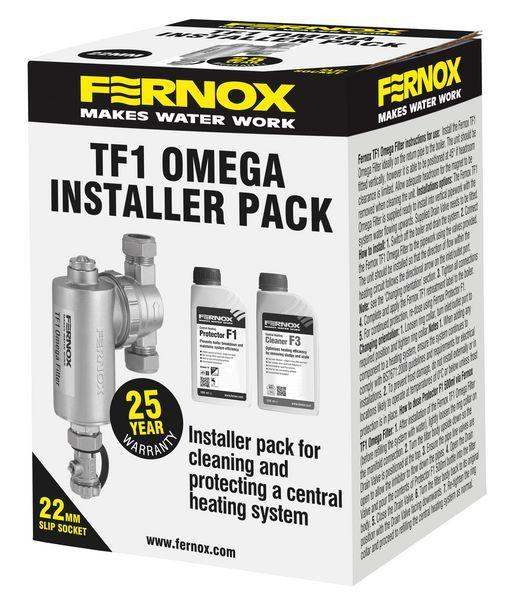 Fernox Omega TF1 installation pack and slip socket 22mtr