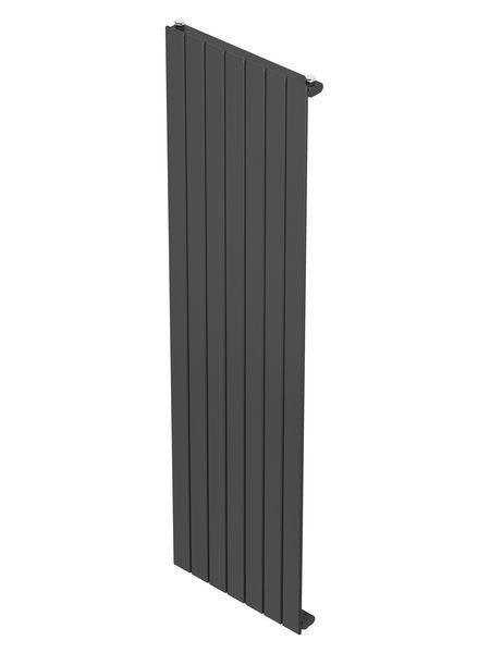 CenterRad Streyt single panel flat tube radiator 1800 x 433mm 3091BTU Anthractie