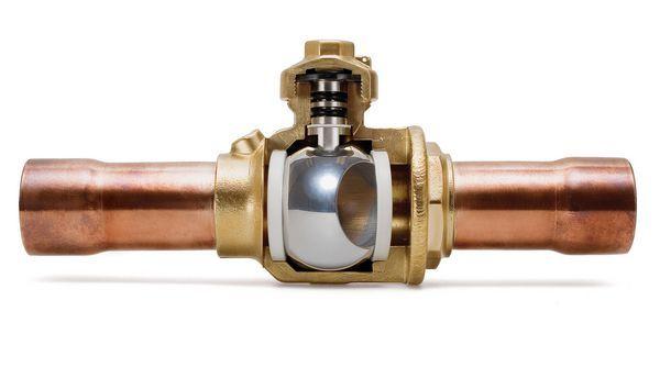 Henry Technologies 937204 schraeder+ ball valve 1/2