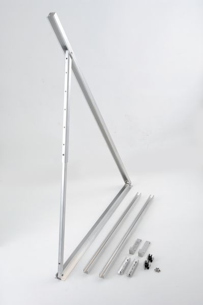 Worcester ICD flat roof support additional panel port