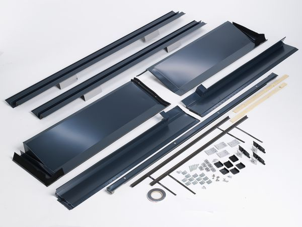 Bosch Worcester ICD 2 panel in roof flash port slate