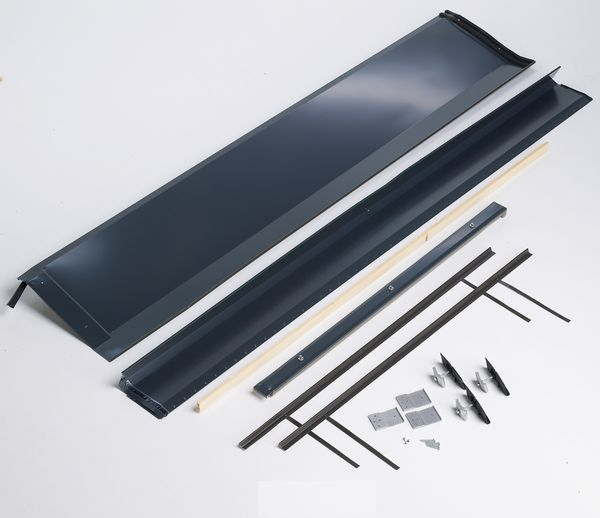 Bosch Worcester ICD landscape 1 panel extension in roof flash slate