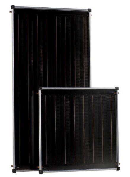 Bosch Worcester Solar Lito 2 panel on roof kit