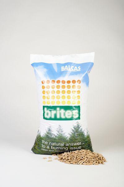 Balcas Brites wood pellet bag 10kg
