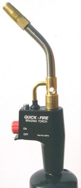 Rothenberger Quickfire brazing torch