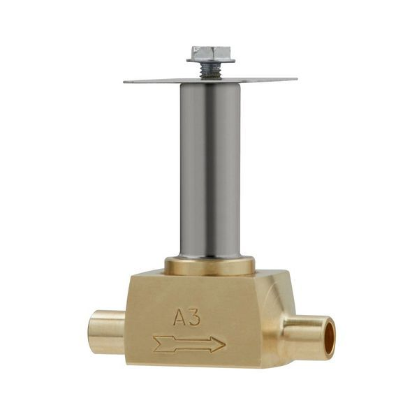 Auriema Parker solenoid valve; sweat 1/4 fitting no coil
