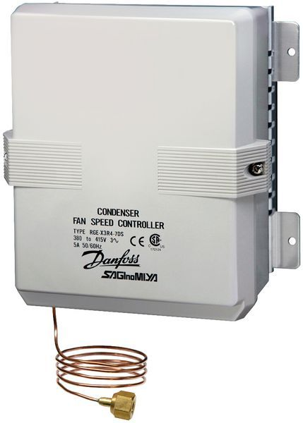 Danfoss RGE-X3R4-7DS fan speed control