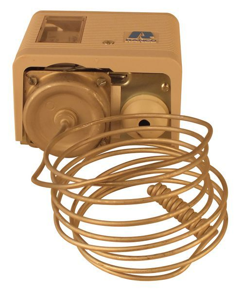 Eliwell 016H6954 coiled capillary thermostat -5/25c