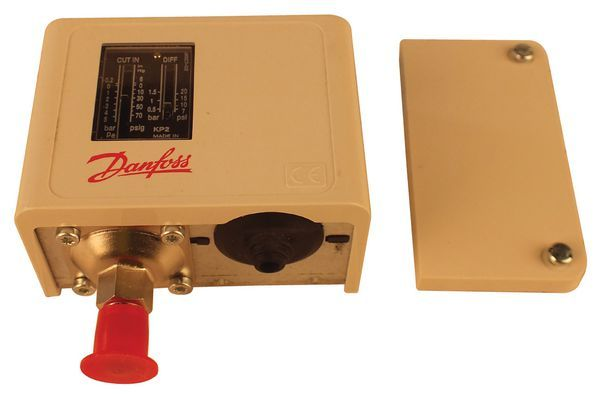 Danfoss KP2 low pressure auto reset switch