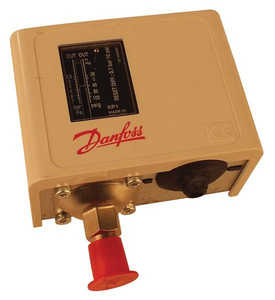 Danfoss KP1 low pressure switch -0.9/7.0bar