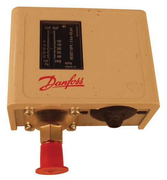 Danfoss KP5 high pressure automatic reset switch 8.0/32bar