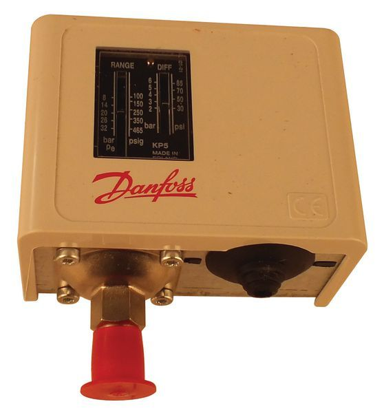 Danfoss KP5 high pressure manual reset switch 8.0/32bar