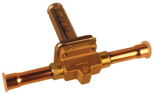 Danfoss EVR3 normally closed solder solenoid valve 3/8