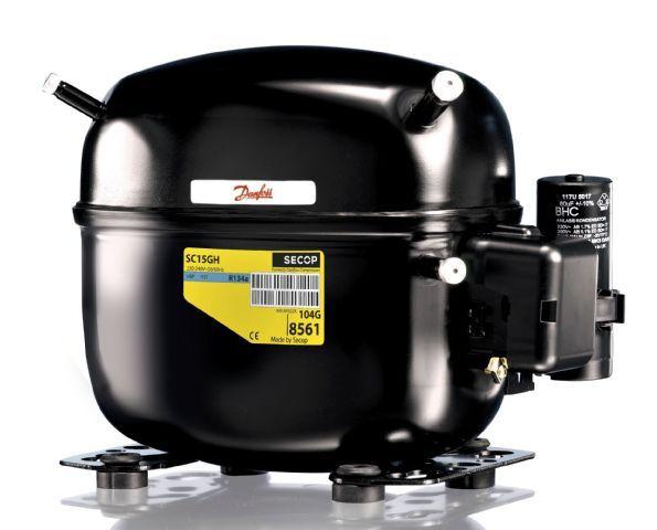 Danfoss SC15 FX compressor (R404A)