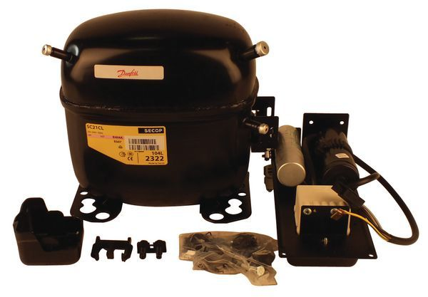 Danfoss SC21 CLX compressor (R404A and R507)
