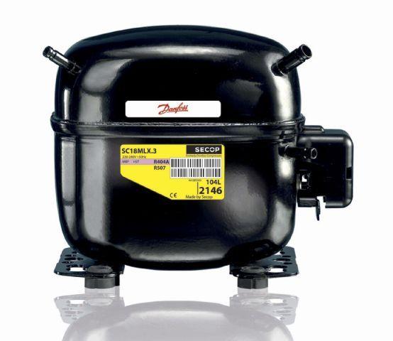 Danfoss SC10 CLX compressor (R404A and R507)