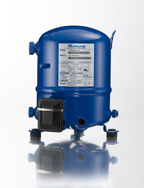 Danfoss NTZ048 3 phase reciprocating compressor