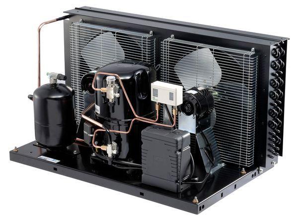 Tecumseh Lunite TAG4534Y 3 phase (Voltage Code-T) hermetic compressor and valves (R134A)