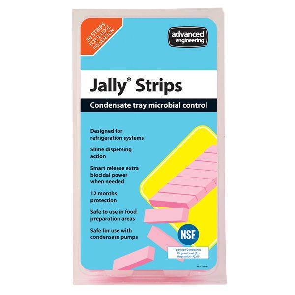 Advanced Engineering JallyStrip anti-bacterial condensate tray treatment (Pack of 50)