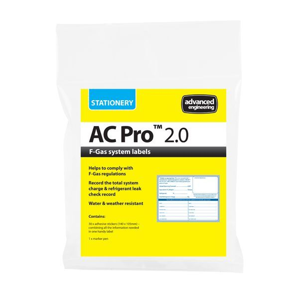 Advanced Engineering AC-PRO 2.0 gas system labels (30) (690987)