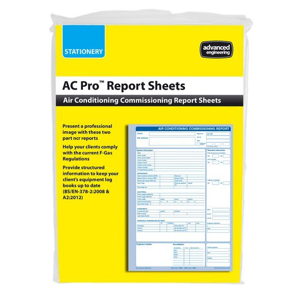 Advanced AEL AC-PRO COMMISIONING REPORTS(50)
