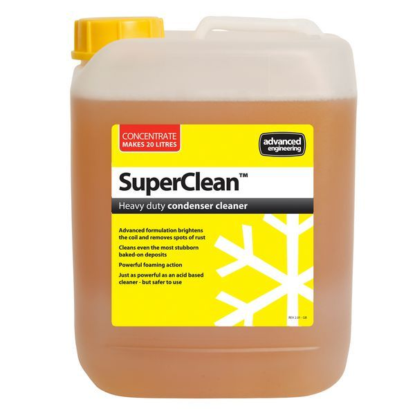 Advanced Engineering SuperClean heavy duty condenser cleaner 5 ltr
