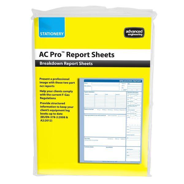 AEL AC-PRO BREAKDOWN REPORTS(50)