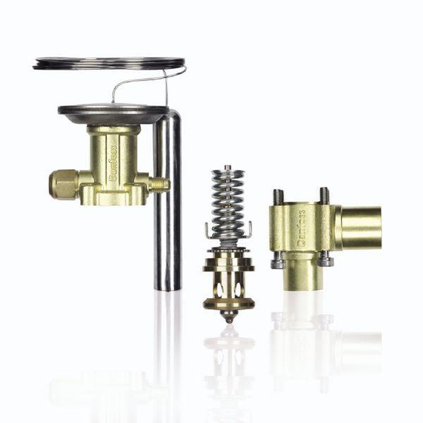 Danfoss TE12&20 straight valve body