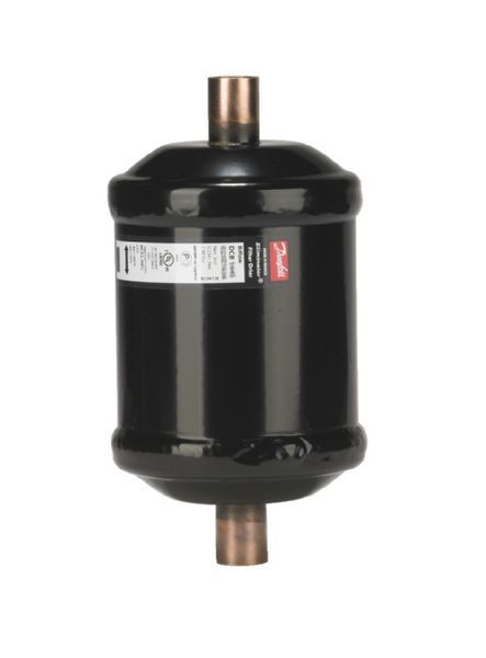 Danfoss DCB163 liquid line drier with flared connection 3/8