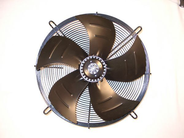Pole Star 1 phase 4 pole mounted axial sucking fan 350mm