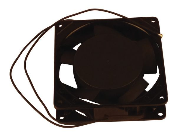 Pole Star compact axial fan leads 92 x 92 x 25mm 230v
