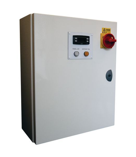 Gbcont GB Controls GBSE-EEW-01A EW+ air defrost evaporator panel with 1 phase fans 4.5A