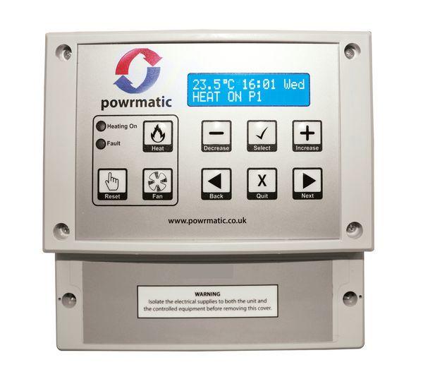 Powrmatic MC200BL/2 optimised fuel saver control