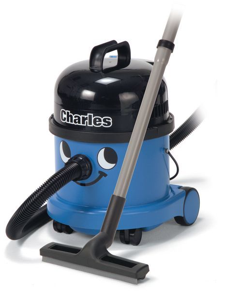 Numatic Charles vacuum cleaner Blue