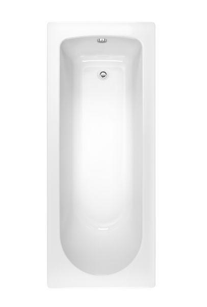 Nabis Bardot single ended bath round 1500x700mm white