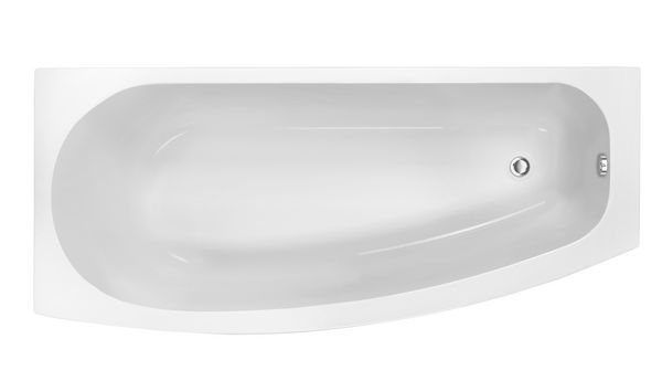 Wolseley Own Brand Nabis Minelli bath right hand space saver 1690x700x500mm white