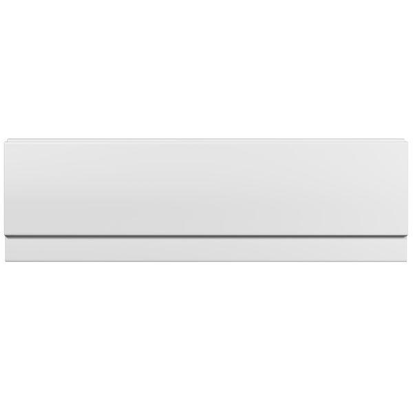 Wolseley Own Brand Nabis bath front panel 1600x510mm white