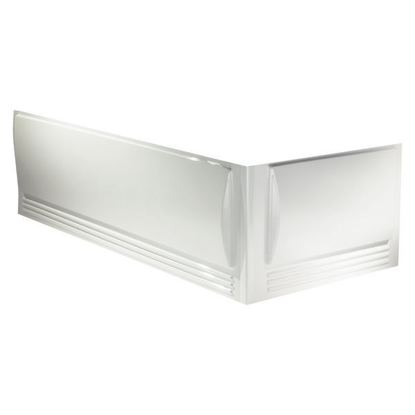 Geberit Twyford Omnifit bath front panel 1700mm White