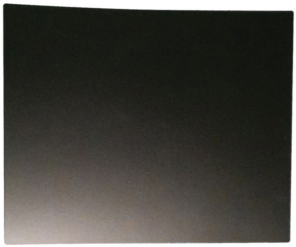 Colour board hardboard end panel Black