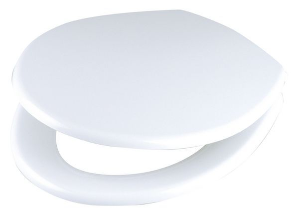 Celmac Concerto SCO11 dual position plast seat and cover White