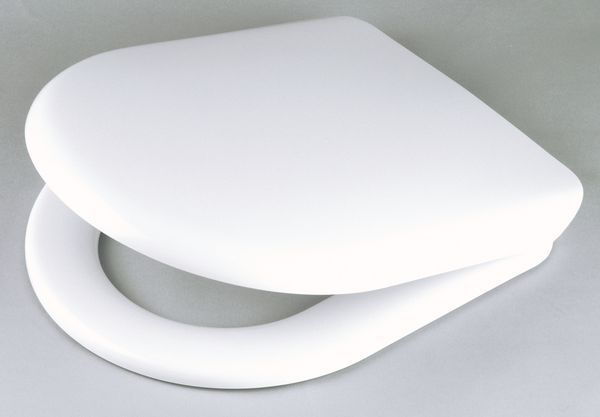 Wirquin Celmac Maestro SAM1K top fix quick release seat White