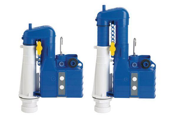 Thomas Dudley Turbo 88 telescopic duo flush syphon
