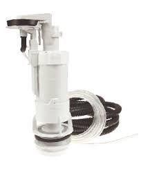 Thomas Dudley Pinto single flush valve comes with tube