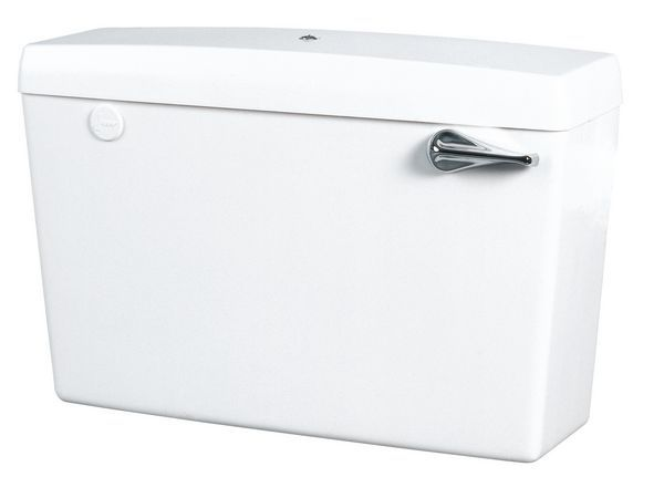 Wirquin Macdee Elan CFE51 low level bottom inlet bottom outlet cistern White