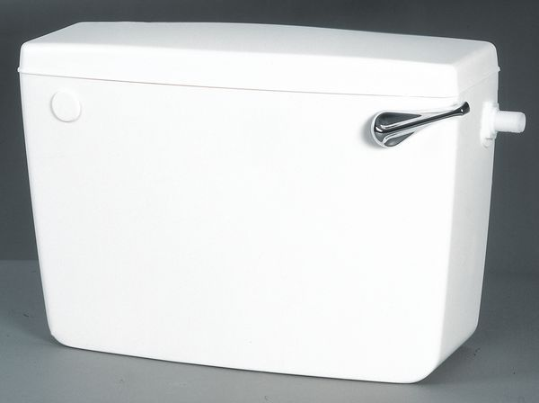 Macdee Concord CCD41 low level side inlet side outlet cistern White