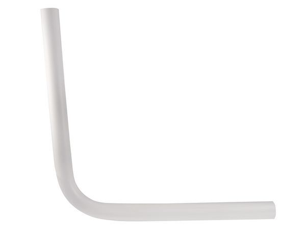 Masefield Epson standard low level flushpipe 18 x 18 White