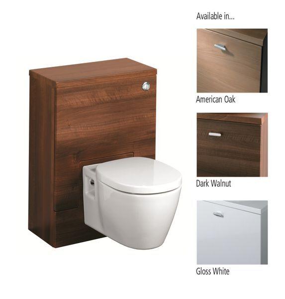 Ideal Standard Concept E6455SO base WC unit 600 American Oak