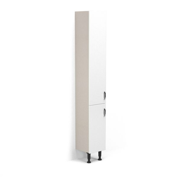 Wolseley Own Brand Nabis Vision doors for tall unit 300mm White Gloss
