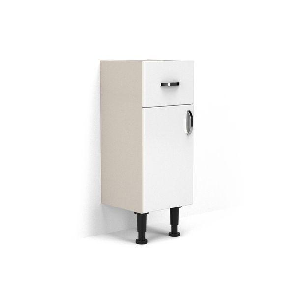 Nabis Vision fascia pack for drawer line unit 300mm White Gloss